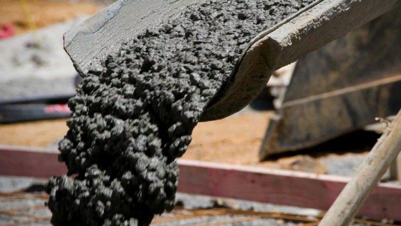 цементный раствор бетона фото
